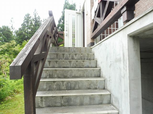 玄関外階段